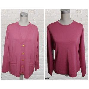 Vintage Ports sweater set size L